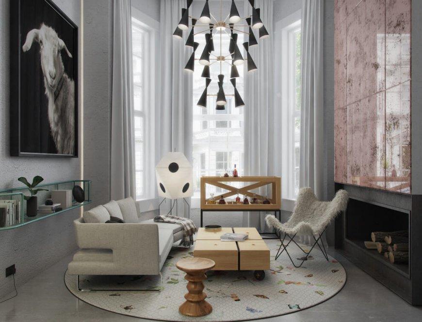 Интерьер в стиле Арт-Деко — интересные фото подборки дизайна комнат