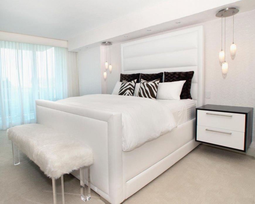 Особенности оформления интерьера белой спальни: сочетания с другими цветам, фото идеи, советы