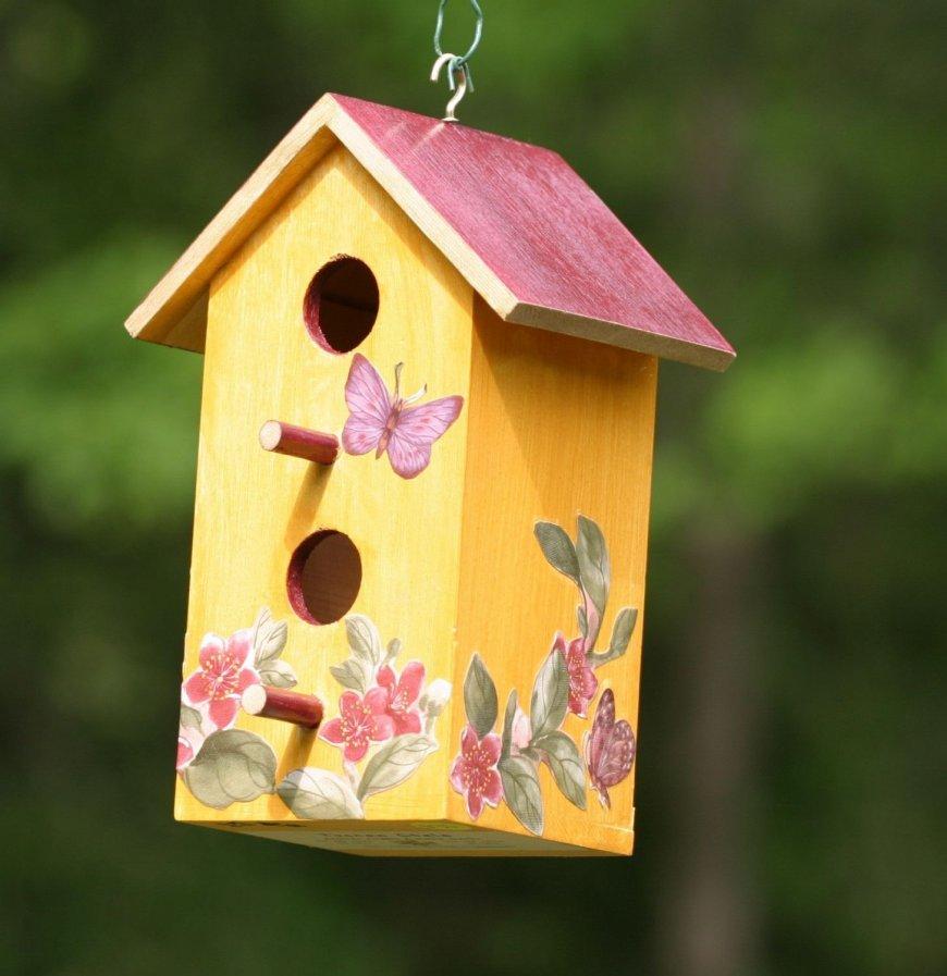 Как сделать красивый и удобный для птиц скворечник своими руками - Огород, сад, балкон