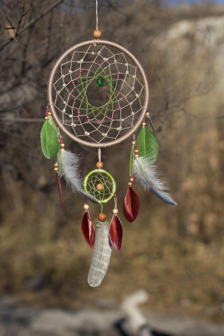 Ловец снов своими руками - пошаговая инструкция (98 фото)