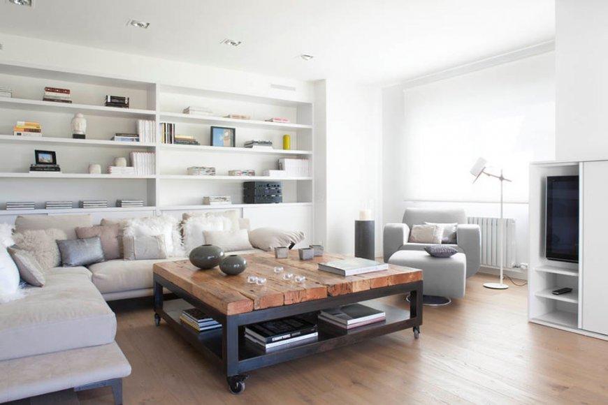 Журнальный стол для гостиной — чудесная фото подборка красивых дизайнов