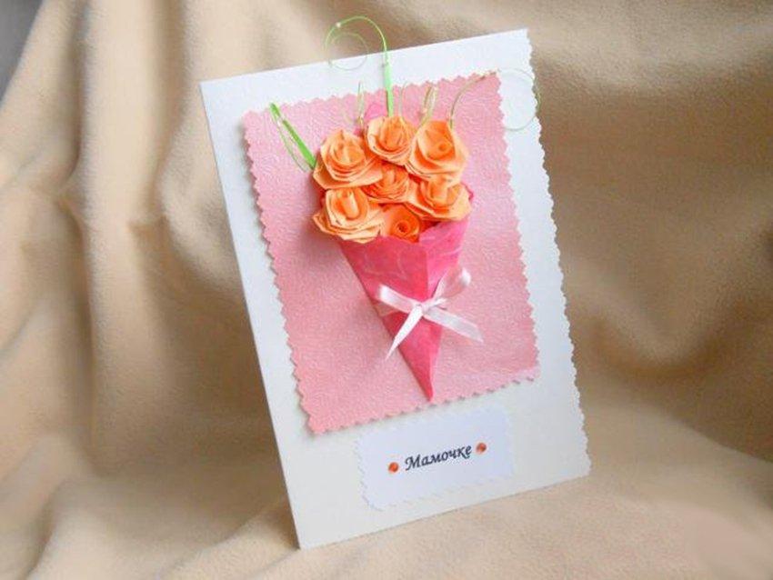Открытки с днем рождения для мамы самодельные, лет