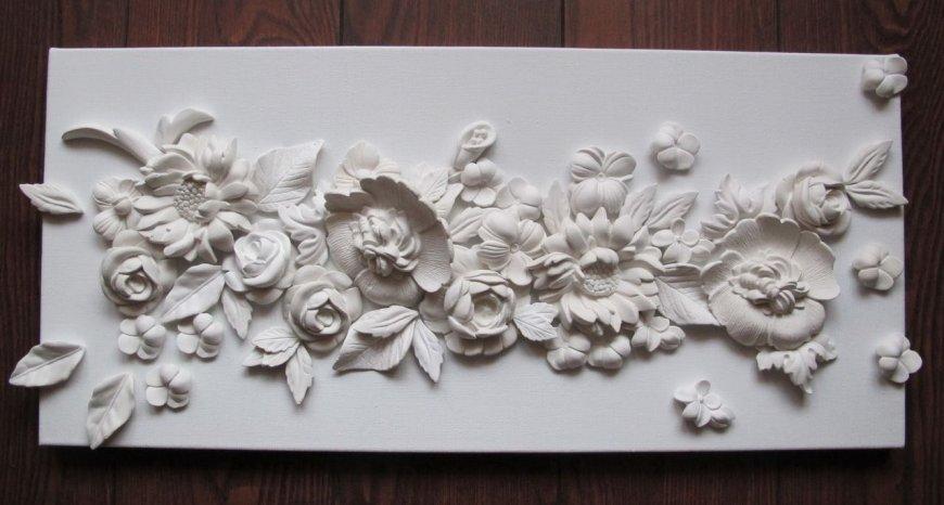 Оригинальные поделки из гипса своими руками — подготовка материала, декорирования, фото идеи