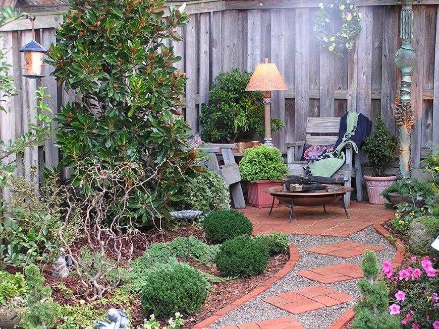 Красивые садовые композиции