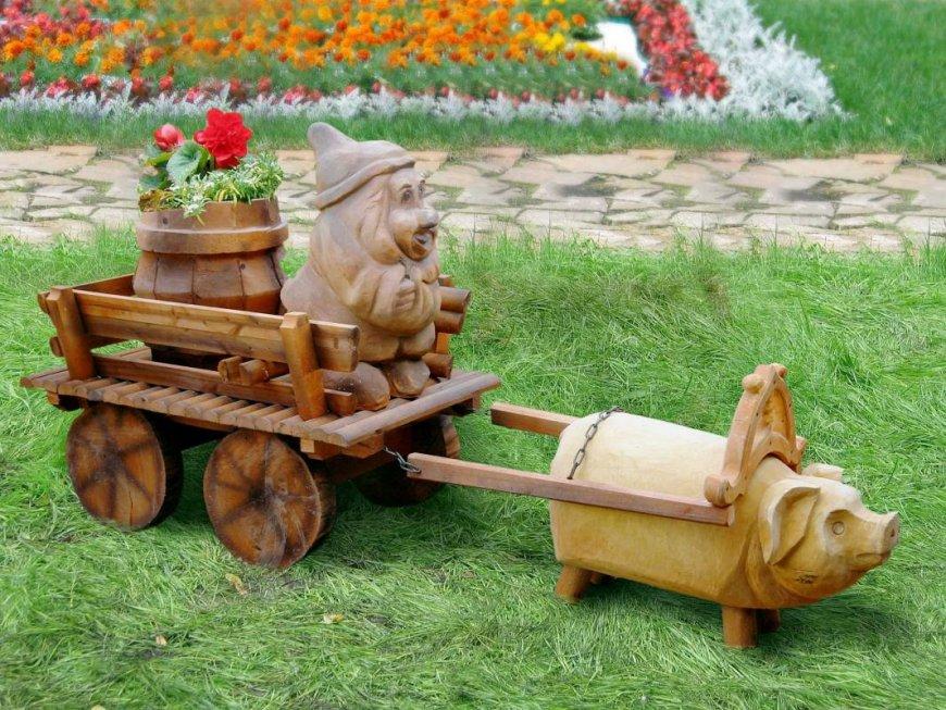 Как сделать тележку садовую своими руками