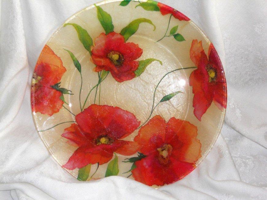 decoupage_of_plates_7 Декупаж тарелки: 100 фото [Лучшие идеи декупажа 2019 года]