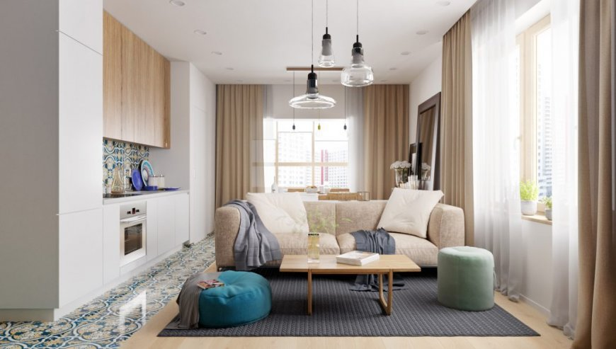 Дизайн трехкомнатной квартиры — интересные фото идеи обустройства дизайна