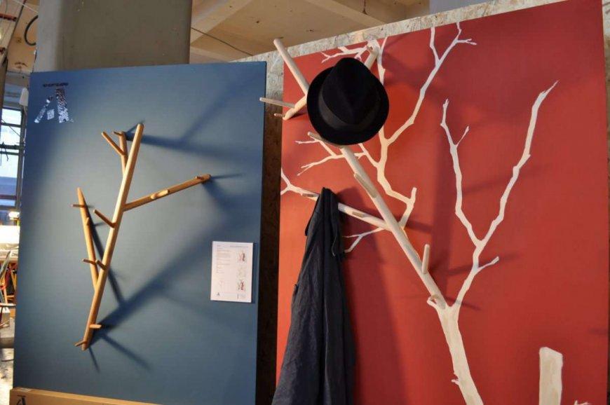 Как сделать вешалку для одежды из дерева своими руками описаниефото
