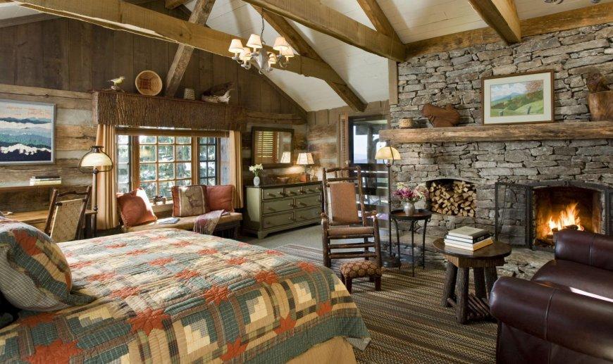 Особенности стиля кантри в интерьере комнат — уникальные фото идеи оформления деревенского стиля