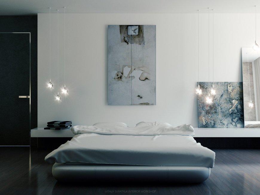 постер для спальни в холодных тонах моего