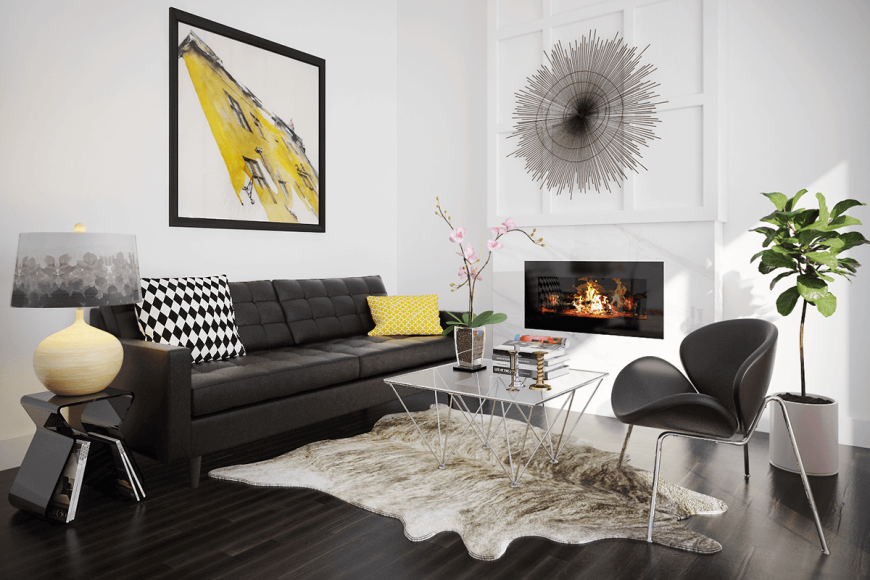 Популярные стили для дизайна кухни-гостиной дизайн интерьера оформленный под модерн кантри лофт