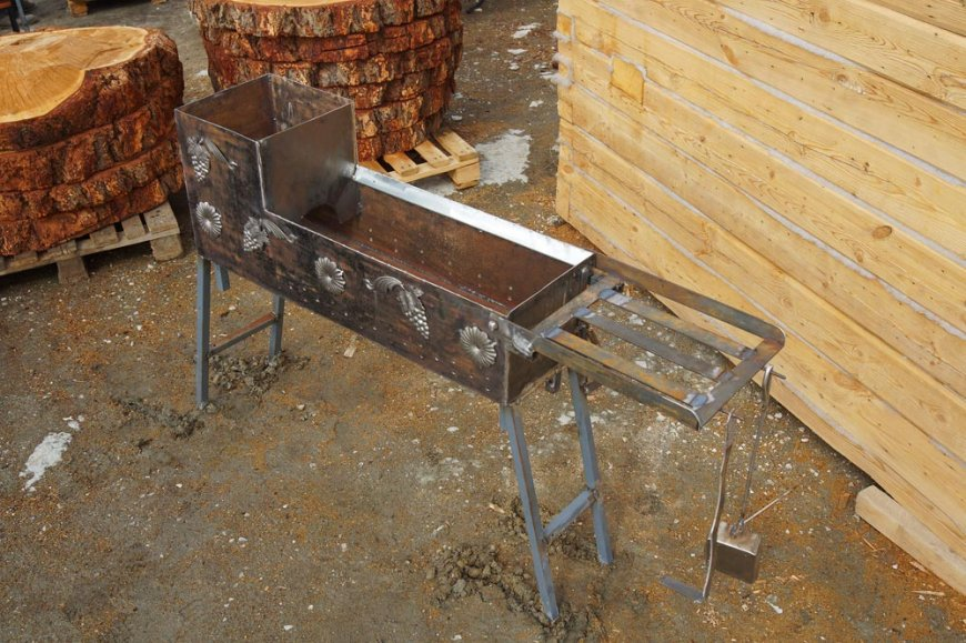 Как правильно сделать мангал для шашлыка