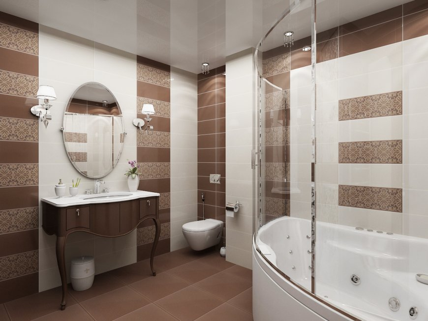 Натяжной потолок в ванной — плюсы и минусы, советы, уникальные фото