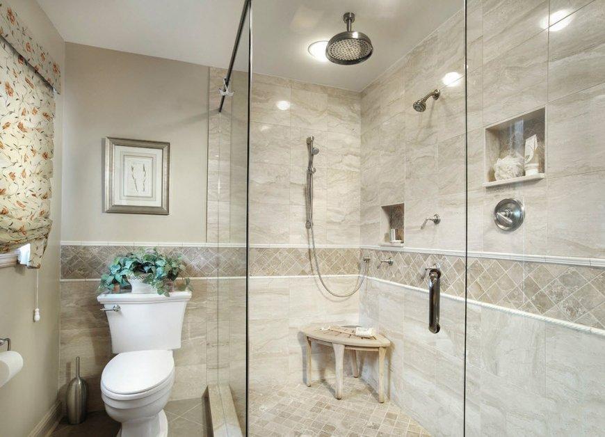 Дизайн плитки для ванной комнаты — советы по выбору цвета и типа, уникальные фото идеи