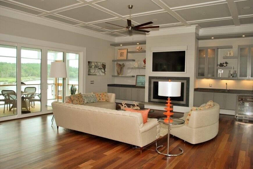 Полки в гостиную - современный дизайн 56 фото полки на стену под телевизор в интерьере зала настенные изделия из гипсокартона