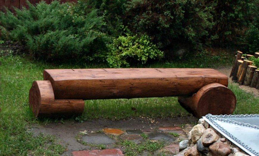 Как сделать лавочку для дачи своими руками — деревянные и металлические, советы и интересные фото идеи