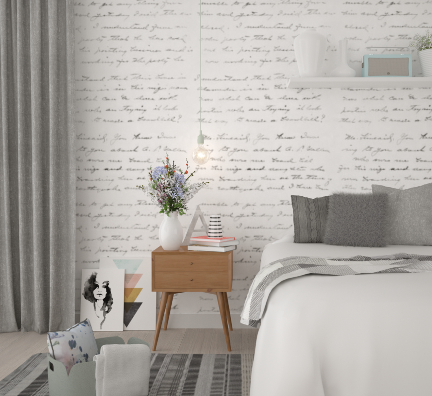 Дизайн спальни в скандинавском стиле — интересные цветовые сочетания, обустройство, фото идеи