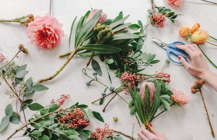 Цветочные композиции своими руками для дома