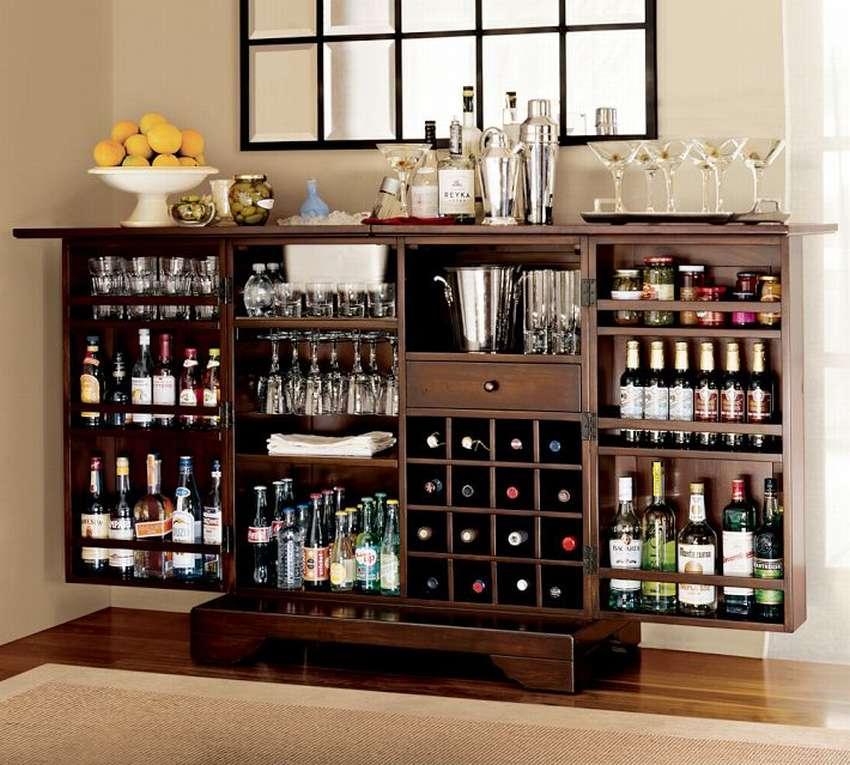 Советы по подбору винного шкафа в интерьере