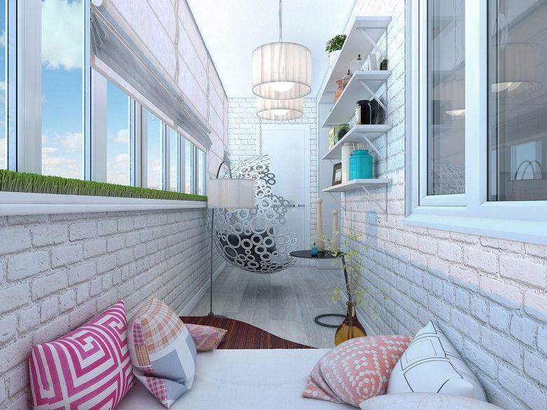 Дизайн балкона в квартире — актуальные варианты отделки и крутые идеи оформления, фото и видео