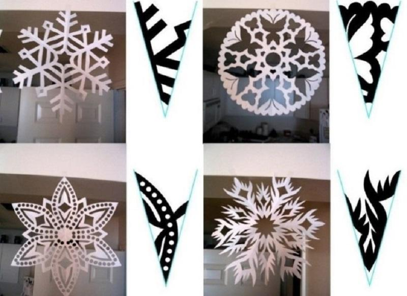 Классические снежинки